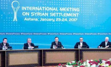 Astana Görüşmeleri ve Suriye´ye Yeni Anayasa