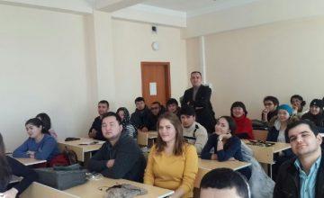 Prof. Dr. Salih Yılmaz, Ahmet Yesevi Üniversitesinde