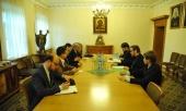 В Отделе внешних церковных связей Московского Патриархата состоялась встреча сотрудников ОВЦС с делегацией Управления по делам религий Турецкой Республики