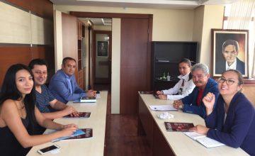 Kırım İsmail Gaspıralı Bilimler ve Sanatlar Akademisi ile İşbirliği Protokolü yapıldı.
