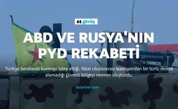 ABD ve Rusya'nın PYD rekabeti