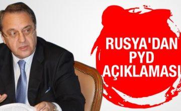 Rusya, PYD'yi vurmadığını açıkladı