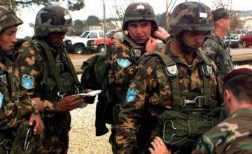 Rus askerleri Özbekistan'da