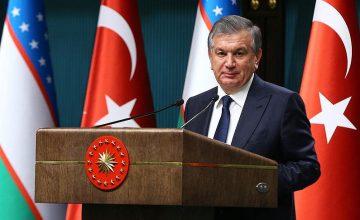 Özbekistan Cumhurbaşkanı Şavkat Mirziyoyev'in Türkiye ziyareti