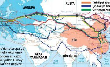 Çinliler Rusya üzerinden İpek Yolu'nu Avrupa'ya bağladılar