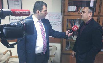 RUSEN Başkanı Prof. Dr. Salih Yılmaz, TRT Haber'de