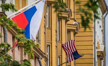 RUSEN [HABER] : ABD Moskova Büyükelçiliği'nin Bulunduğu Sokağının Adı Değişiyor