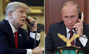 RUSEN [HABER] : Putin ve Trump, İsrail- Filistin Sorununun Çözümünü Görüştü
