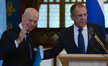 RUSEN[HABER] : Rusya Dışişleri Bakanı Lavrov, Suriye'deki çatışmasızlık bölgelerine ilişkin konuştu.