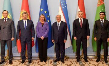 RUSEN[HABER]: Orta Asya ve AB ülkeleri karşılıklı işbirliğini geliştirmeye niyetli