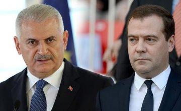 """RUSEN[HABER]: Başbakan Binali Yıldırım, Rusya'ya """"taziye"""" mesajı gönderdi"""