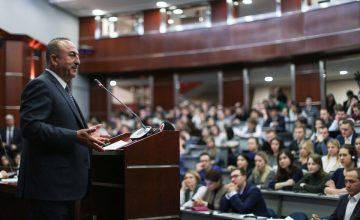 """RUSEN[HABER] : Çavuşoğlu,""""Vize sorunu er ya da geç çözülecek"""""""