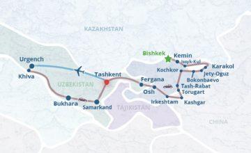 RUSEN[HABER] : Çin ile Kırgızistan arasında rota krizi