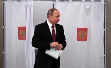 RUSEN[HABER] : Rusya'da başkanlık seçimini Putin kazandı