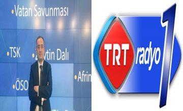 Prof. Dr. Salih Yılmaz, yarın saat 08.00'da TRT Radyo 1 Gündem programına konuk oluyor