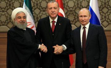 RUSEN[ANALİZ]: Türkiye, Rusya ve İran ile Ankara zirvesinde işbirliği ruhu ön plana çıktı