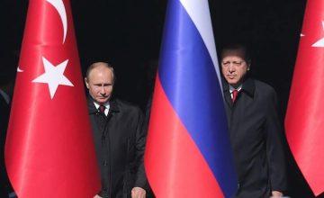 RUSEN[HABER]: Rusya Devlet Başkanı Putin, Erdoğan'ın Suriye'de acil insani yardım teklifini isabetli buldu