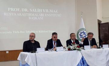 RUSEN, Kafkas üniversiteleri rektörlerine Türkiye-Rusya kültürel diplomasisini anlattı.