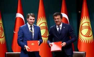 RUSEN[HABER]: Kırgızistan ve Türkiye ekonomi alanında anlaşma imzaladı