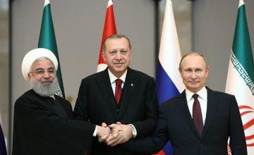 """RUSEN[HABER]: Ankara'da gerçekleşen """"Türkiye-Rusya-İran Üçlü Zirvesi"""" sona erdi"""