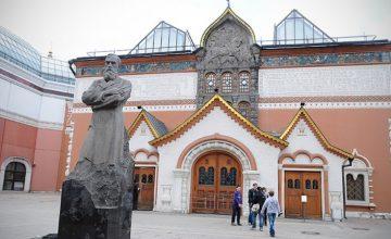 """RUSEN[KÜLTÜR]: Tretyakov Galerisi """"Müze Gecesi""""nde ziyaret rekoru kırdı"""