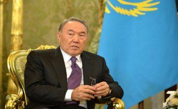 """RUSEN[HABER]: Nazarbayev; """"Karadeniz ile Hazar arasında kanal yapalım"""""""