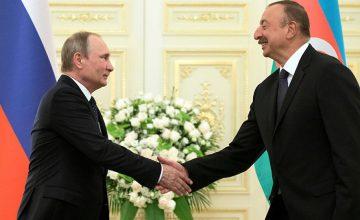 RUSEN[HABER]: Putin, Aliyev ile görüştü