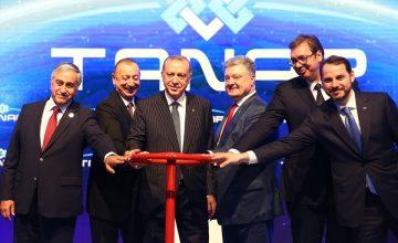 RUSEN[HABER]: Trans Anadolu Doğalgaz Boru Hattı (TANAP) açıldı