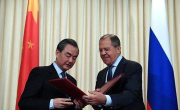 """RUSEN[HABER]: Rusya Dışişleri Bakanı Sergey Lavrov : """"Çin ile stratejik koordinasyonu derinleştirmeye hazırız"""""""