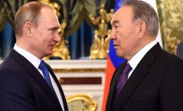 RUSEN[HABER]: Nazarbayev ve Putin telefonda görüştü