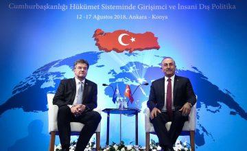 """RUSEN[HABER]: Dışişleri Bakanı Mevlüt Çavuşoğlu: """"Rusya ile ilişkilerimiz, refah ve istikrar için de hayati önem taşır"""""""