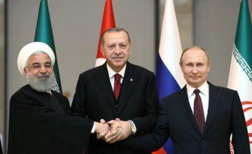 RUSEN[HABER]: Cumhurbaşkanı Erdoğan, Vladimir Putin ve Hasan Ruhani 7 Eylül'de Tahran'da görüşecek