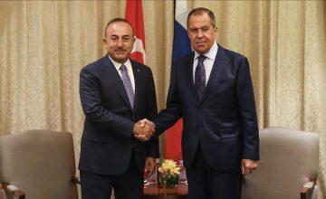 """RUSEN[HABER]: Rusya Dış işleri Bakanı Sergey Lavrov: """"Vizeyi kolaylaştırmak için ortak istişare mekanizması kurulmasında anlaştık"""""""