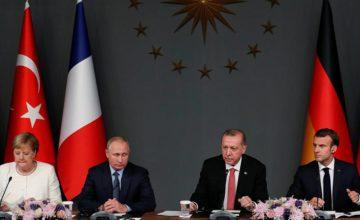 RUSEN[HABER]: İstanbul'da gerçekleşen 4'lü Suriye Zirvesi sona erdi