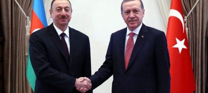 RUSEN[HABER]: Erdoğan, Aliyev ile görüştü