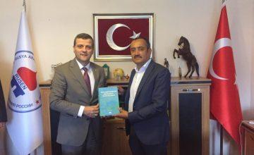 RUSEN[HABER]: Ahmet Yesevi Üniversitesi heyeti RUSEN'i ziyaret etti