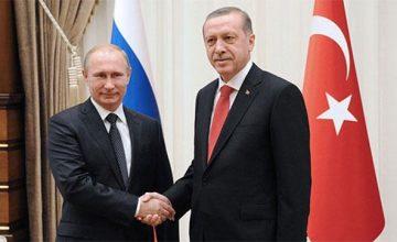 """RUSEN[HABER] : Rusya Devlet Başkanı Vladimir Putin : """"Suriye'de Türk partnerlerimizle dayanışma içinde çalışıyoruz"""""""