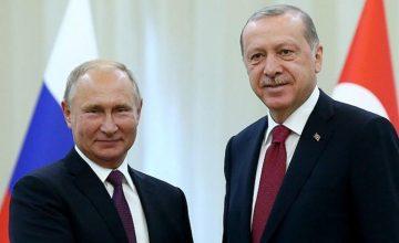 RUSEN[HABER]: Cumhurbaşkanı Recep Tayyip Erdoğan ve Vladimir Putin Paris'te görüşebilir