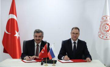 Türkiye ile Rusya arasında işbirliği protokolü imzalandı