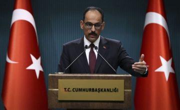 """Cumhurbaşkanlığı Sözcüsü İbrahim Kalın: """"Suriye'de hem sahada hem masada olmaya devam edeceğiz"""""""