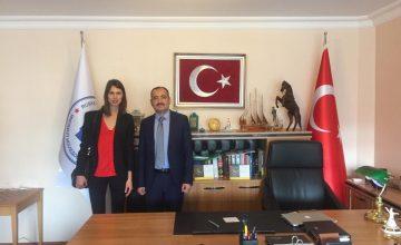 İsveç'in Ankara Büyükelçiğinden RUSEN'e ziyaret