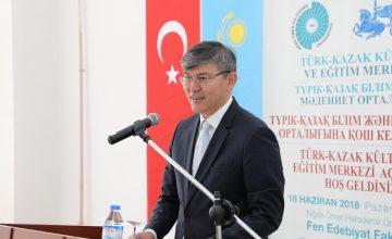 """Kazakistan'ın Ankara Büyükelçisi Abzal Saparbekuly : """"Türk şirketlerine Kazakistan'da 8,5 milyar dolarlık iş fırsatı var"""""""