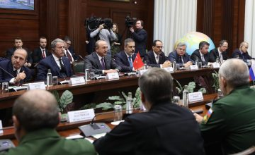 Dışişleri Bakanı Mevlüt Çavuşoğlu: Tüm terör örgütlerinin Suriye topraklarından temizlenmesi konusunda ortak irademiz var