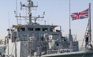 İngiltere, Kraliyet Donanmasına ait bir gemiyiKaradeniz'e gönderdi