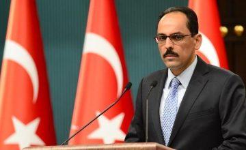 Cumhurbaşkanlığı Sözcüsü İbrahim Kalın: Türkiye'nin Kürtleri hedef aldığı iddiası akıl dışıdır