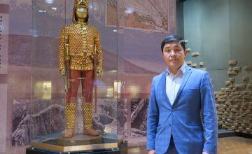 Altın elbiseli adam, Kazak bozkırlarında altın kullanma tekniğine ışık tutuyor