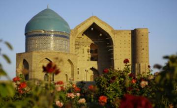 Kazakistan'dan Türkistan kentinde inşaat hamlesi