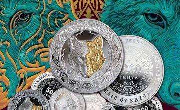 Orta Asya Türk kahramanları Kazak paralarında