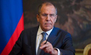 """Rusya Dışişleri Bakanı Sergey Lavrov : """"Rusya Türkiye ile birlikte İdlib'de çalışıyor"""""""