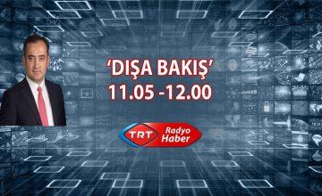 Prof. Dr. Salih Yılmaz, 7 Ocak Pazartesi günü saat 11.00'da TRT Radyo Haber Dışa Bakış programına konuk oluyor